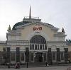 Железнодорожные вокзалы в Каневской